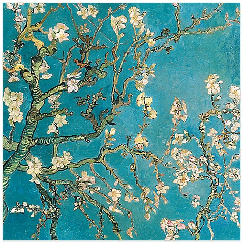 Van gogh39s almond blossom canvas wall art bed bath beyond for Best brand of paint for kitchen cabinets with cherry blossom canvas wall art