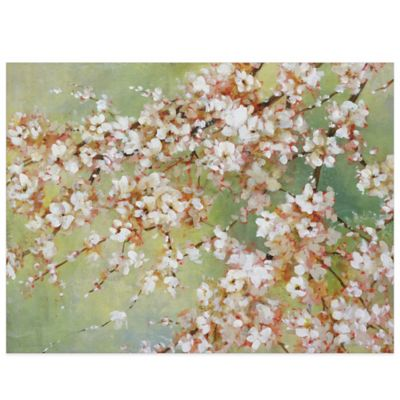 Into the Cherry Blossom Canvas Wall Art