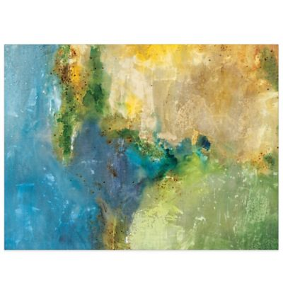 Sunlit Sound Canvas Wall Art