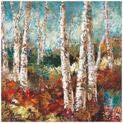 Birch Sky II Canvas Wall Art