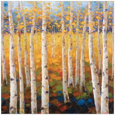 Birch Forest Canvas Wall Art