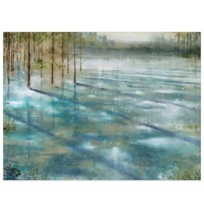 Water Trees Canvas Wall Art