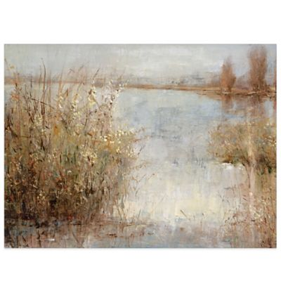 A Touch of Reeds Canvas Wall Art