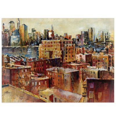 Urban Heights Canvas Wall Art