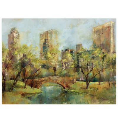 Park Canvas Wall Art