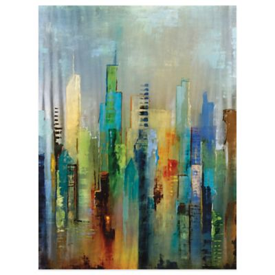 Steel Rising Canvas Wall Art