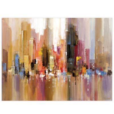 City Spree Canvas Wall Art