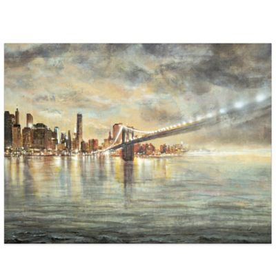The Big City Canvas Wall Art
