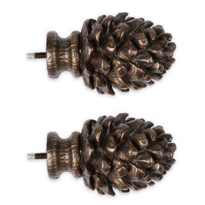 Cambria® Premier Complete Decorative Pinecone Finial