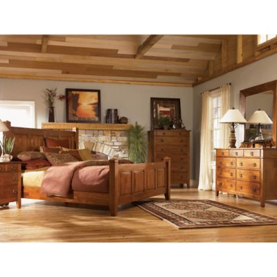 Klaussner Urban Craftsmen 5-Piece King Bedroom Set