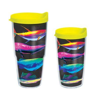 Tervis® The Salt Life Neon Fish 16 oz. Wrap Tumbler with Lid