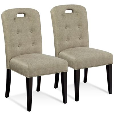 Bassett Mirror Company Bartlett Slot Back Parson Chair (Set of 2)