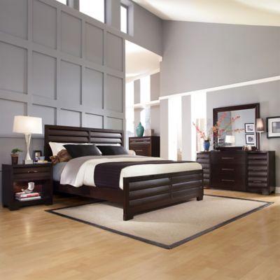 Pulaski Sable 5-Piece Queen Bedroom Set