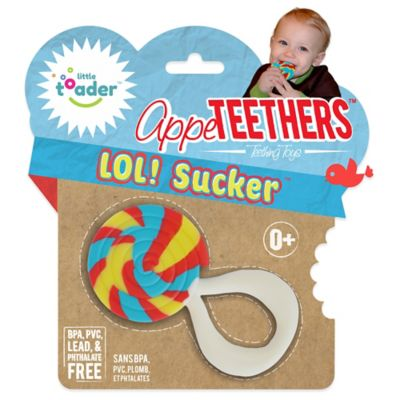 Little Toader™ AppeTEETHERS™ LOL! Sucker™ Teething Toy