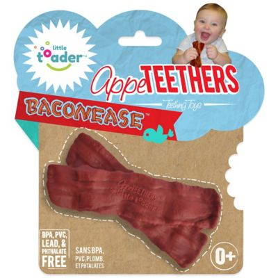 Little Toader™ AppeTEETHERS™ Baconease™ Teething Toy