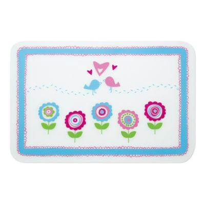 Bumkins® Lovebirds in Bloom Reusable Silicone Placemat
