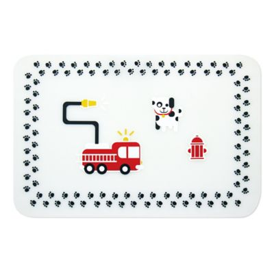 Bumkins® Fire Engine Reusable Silicone Placemat