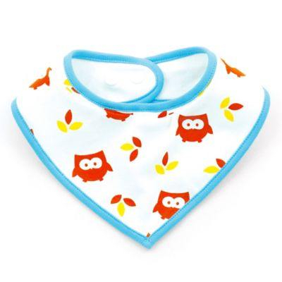 Light Blue Bandana Bib