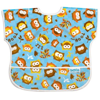 "Bumkins® ""Hoot"" Owl Junior Bib in Blue"
