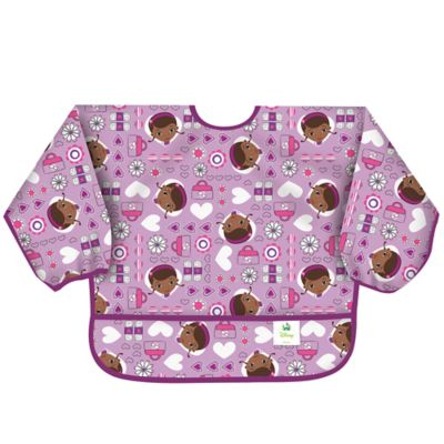 Bumkins® Disney® Doc McStuffins Long Sleeved Bib in Purple
