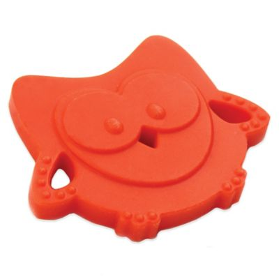 Bumkins® Silicone Owl Teether in Orange