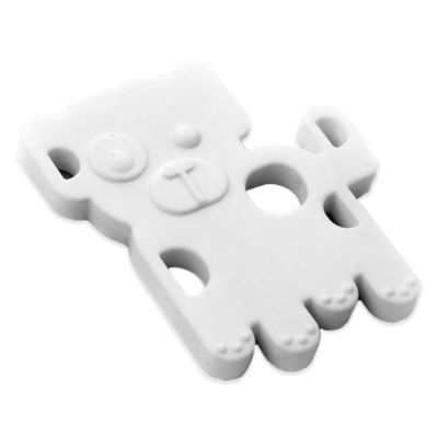 Bumkins® Silicone Puppy Teether in White