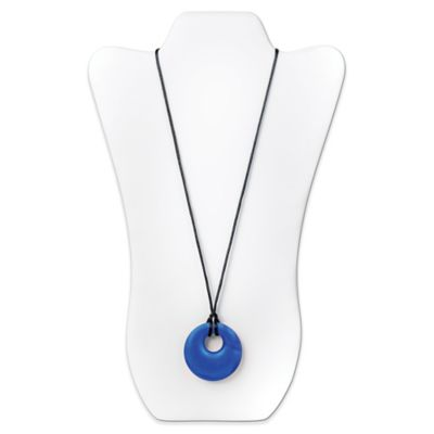 Bumkins® Gemma Silicone Teething Pendant in Sapphire