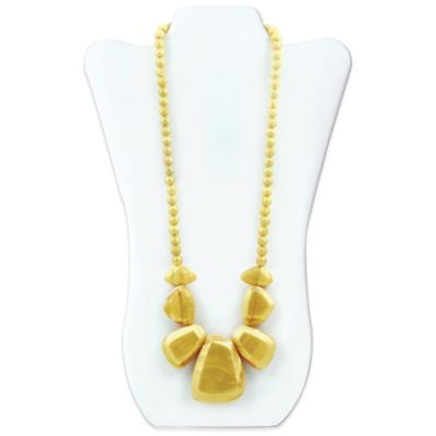 Bumkins® Rocca Silicone Teething Necklace in Gold
