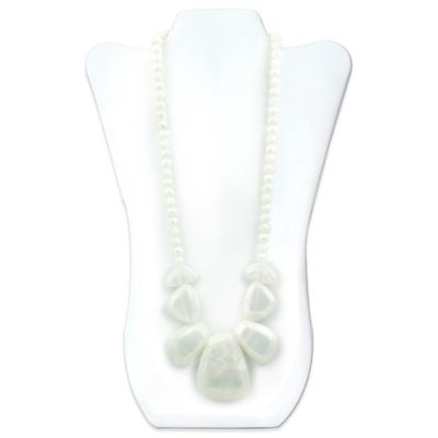 Bumkins® Rocca Silicone Teething Necklace in Opal