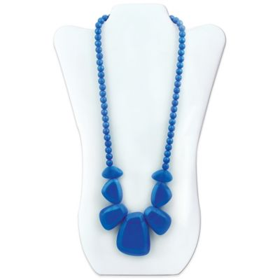 Bumkins® Rocca Silicone Teething Necklace in Sapphire