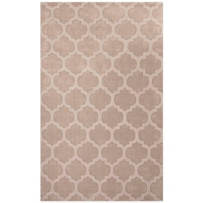 Jaipur Metro Tile Design 2-Foot x 3-Foot Area Rug in Brown