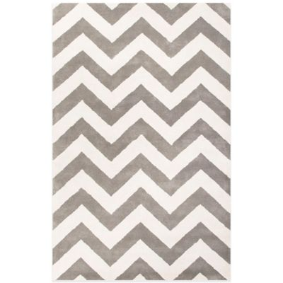Jaipur Traverse Paris 2-Foot x 3-Foot Rug in Blue/Ivory