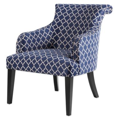 Madison Park Rollback Accent Chair in Navy