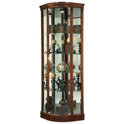 Hampton Cherry Curio Cabinets