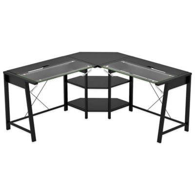 Z-Line Designs Vance L Desk in Black