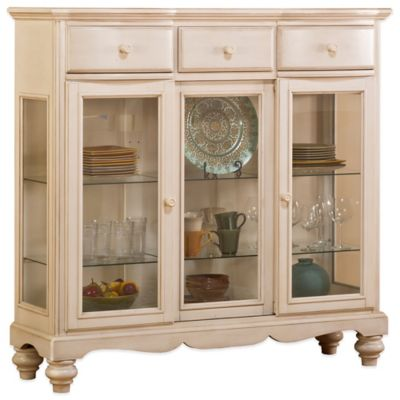 Hillsdale Pine Island Tall Buffet in White
