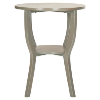 Safavieh Rhodes Accent Table in Grey