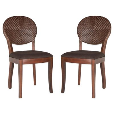 Safavieh Brown Side Chair