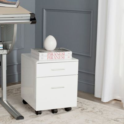 Safavieh Piedmont Cabinet in White