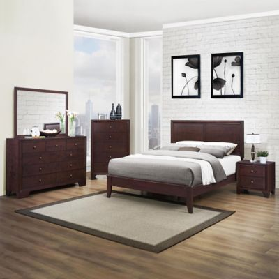 Verona Home McKinley Queen 5-Piece Bedroom Set