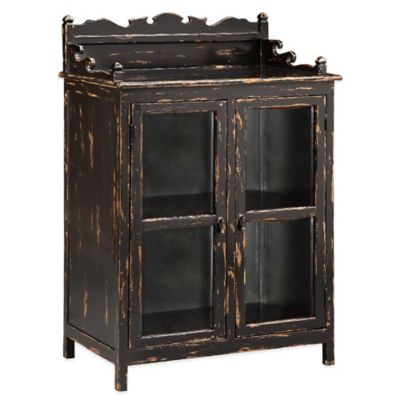 Panama Jack Belmar Accent Cabinet in Peppercorn
