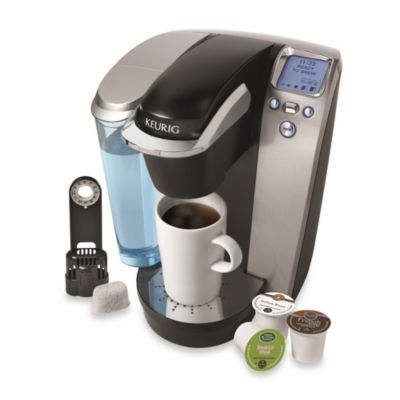 Coffee Makers Sold At Bed Bath And Beyond : Keurig K75 Platinum Single Serve Brewing System in Silver - Bed Bath & Beyond