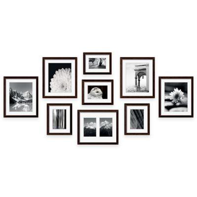 Swing Design™ 9-Piece Frame Gallery in Espresso