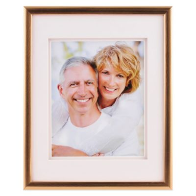 PhotoGuard® 8-Inch x 10-Inch Frame in Brushed Gold