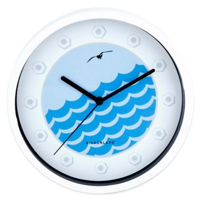 Kikkerland® Port Hole Wall Clock
