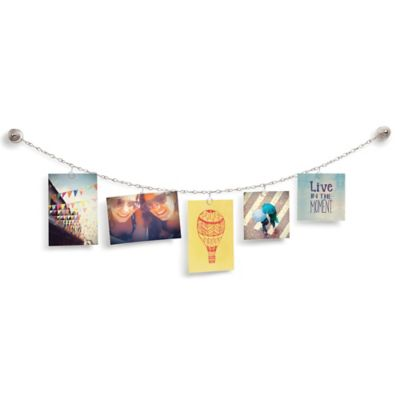 Umbra Photoline Wall-Mount Wire Photo or Card Display
