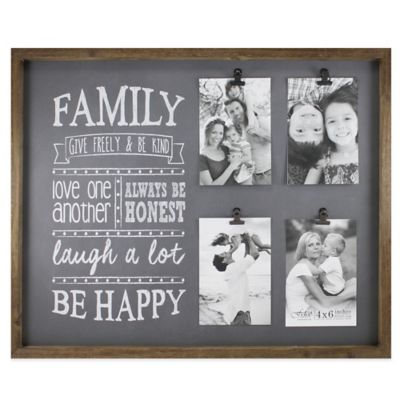 4 Picture Collage Frame