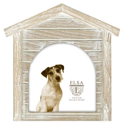 Elsa L 4.5-Inch x 4.5-Inch Dog House Sentiment Frame