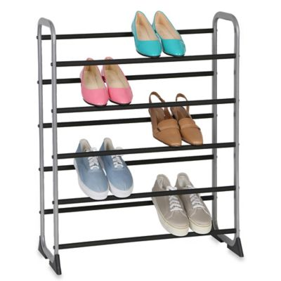 Non-Slip 20-Pair Shoe Rack