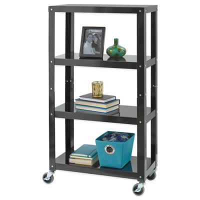 Studio 3B™ 4-Tier Metal Shelving in Black